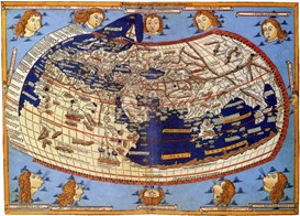 The World according to Ptolemy, ~150 AD.
