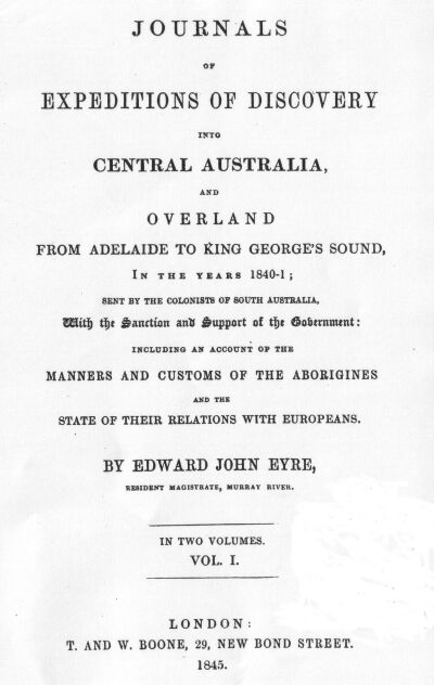 Journals of expeditions of discovery into central australia go to project gutenberg australia home page fandeluxe Gallery