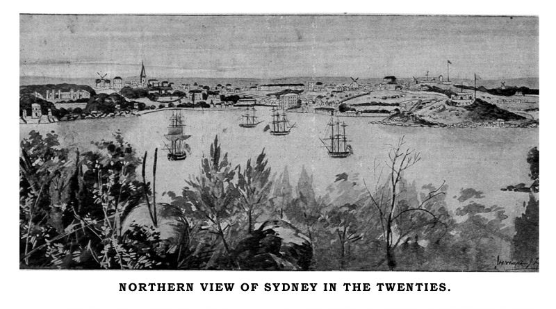 The city of sydney by john arthur barry vessels of the british navy were of course frequent visitors to sydney in 1851 there arrived a crack frigate called the calliope of 26 guns fandeluxe Images