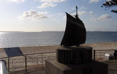 First Fleet Monument