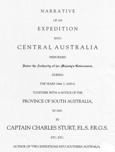 Narrative of an expedition a notice of the province of south australia in 1847 fandeluxe Choice Image