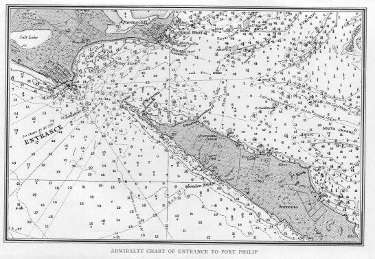 Latest Technology Vintage Nautical Maritime Chart Rivoli Bay To Cape Jervis Australia 1st Ed