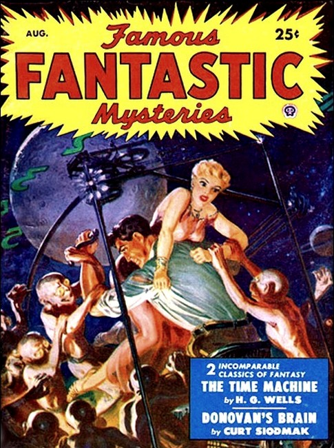 The time machine an invention famous fantastic mysteries august 1950 with the time machine fandeluxe Epub