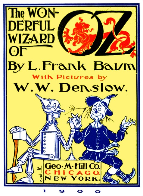W Attack Of The Fighting Trees W Denslow Wizard Of Oz Art Print Poster 21