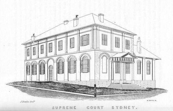 Sydney In 1848
