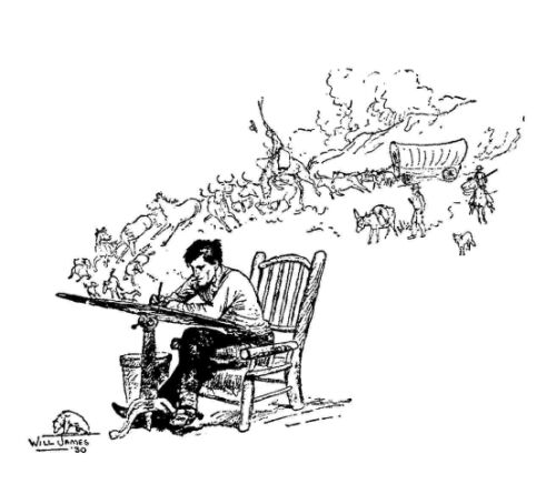 Wondrous Lone Cowboy Spiritservingveterans Wood Chair Design Ideas Spiritservingveteransorg