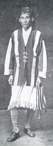 KAREN COSTUME AS IT IS NOW WORN ON THE BORDERS OF BURMA AND SIAM.