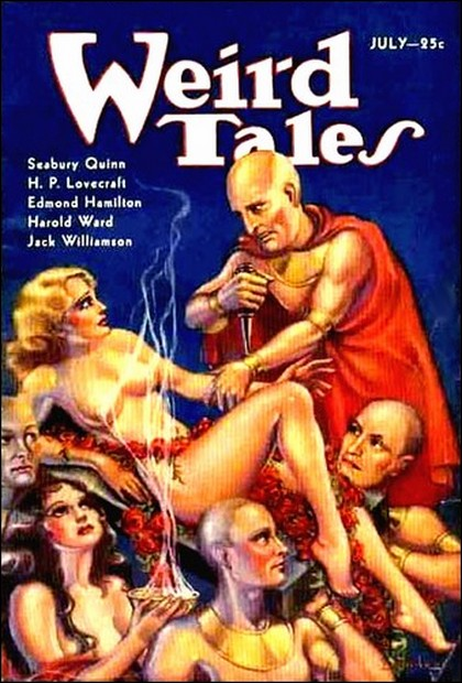Cover of July 1933 issue of Weird Tales