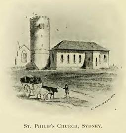St. Philip's Church, Sydney.