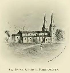 St. John's Church, Parramatta.