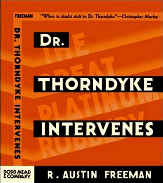 Dr. Thorndyke Intervenes 90ea62e46