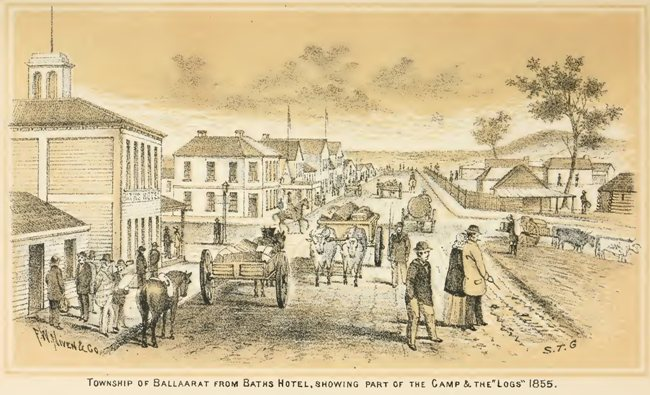 The History Of Ballarat From The First Pastoral