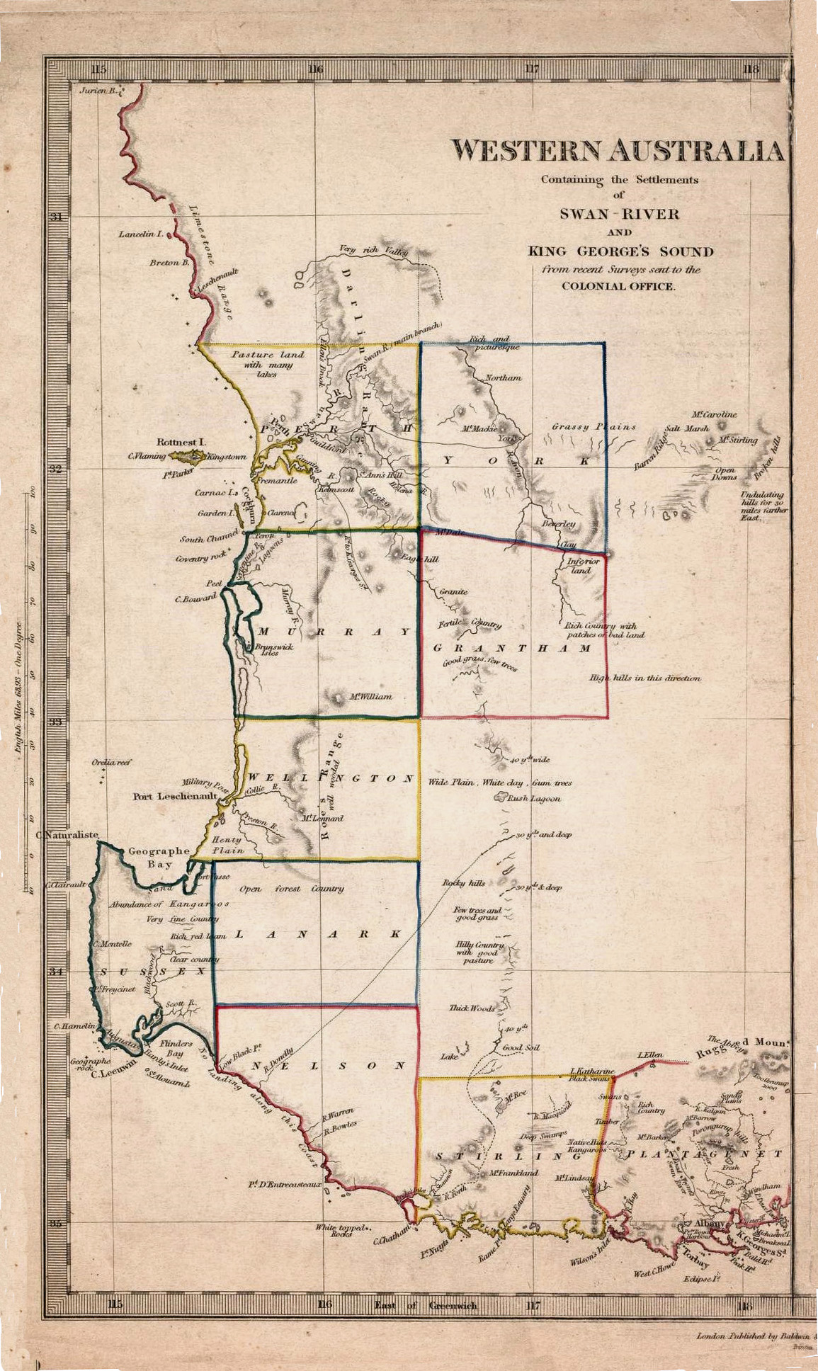 Western Australia, Comprising a Description of the Vicinity of Australind, and Port Leschenault.