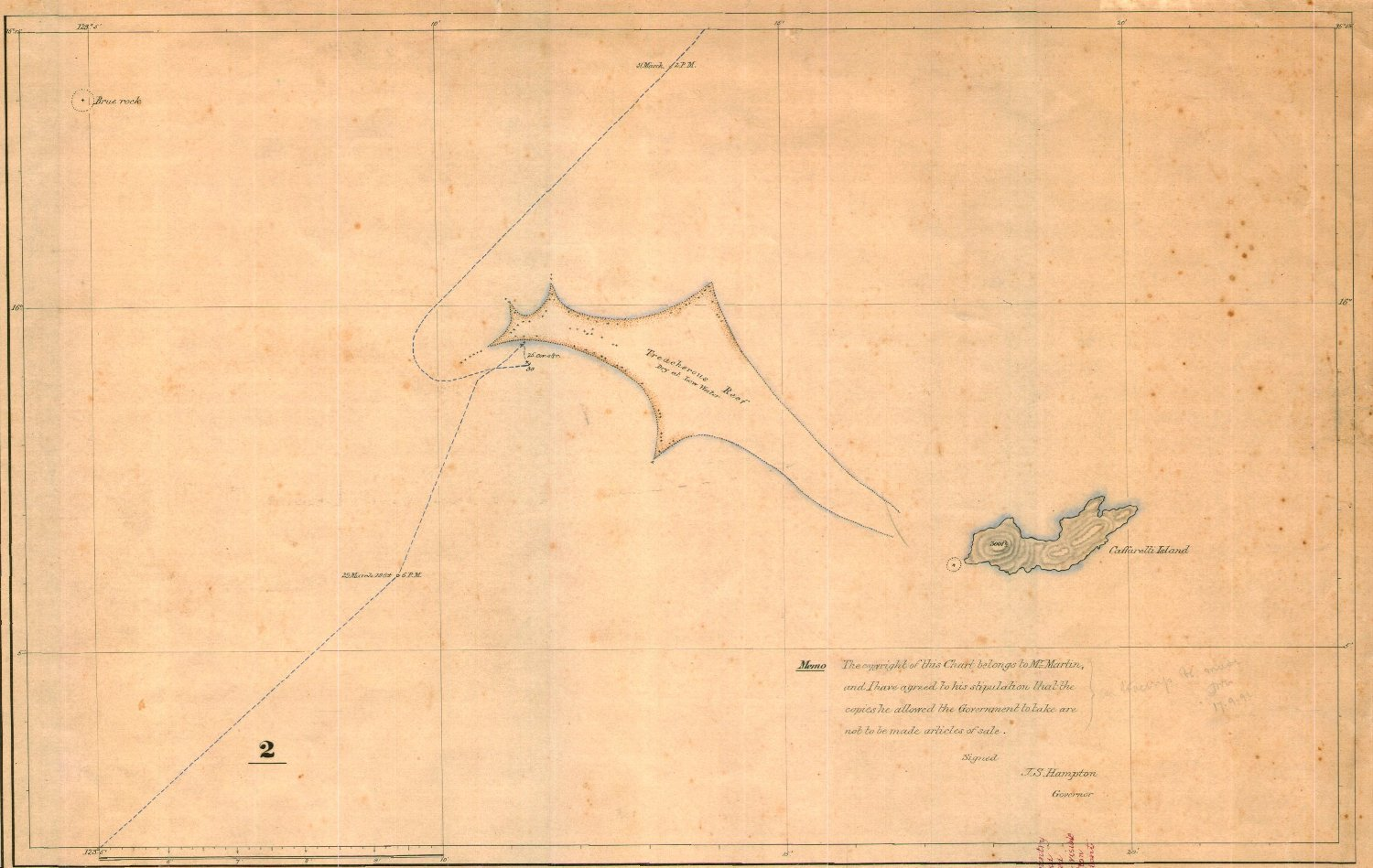 Journals and reports of two voyages to the glenelg river and the chart 2caffarelli island and treacherous reef nvjuhfo Images