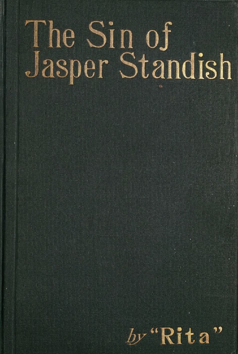 The Sin of Jasper Standish, by