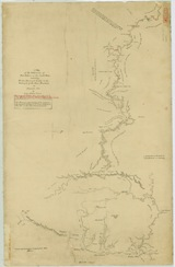 Evans' map, Blue Mts and beyond, 1813.